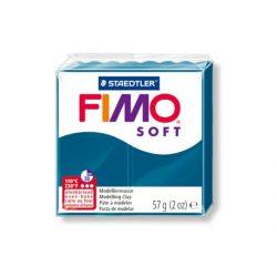 Fimo soft gyurma, 57g, kalipszó kék 31