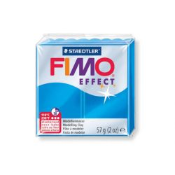 Fimo Effect Gyurma, áttetsző, 57g, kék 374