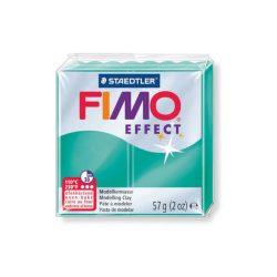 Fimo Effect Gyurma, áttetsző, 57g, zöld 504