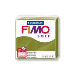 Fimo soft gyurma, 57g, olívzöld 57