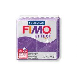 Fimo Effect Gyurma, csillámos, 57g, bíborlila 602