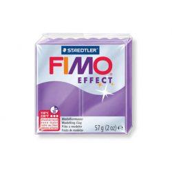 Fimo Effect Gyurma, áttetsző, 57g, bíborlila 604