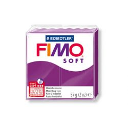 Fimo soft gyurma, 57g, bíborlila 61