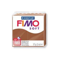 Fimo soft gyurma, 57g, karamell 7