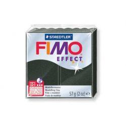 Fimo Effect Gyurma, 57g, gyöngyház fekete 907