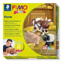 Gyurmakészlet, STA, Fimo Kids, 4x42g, farm