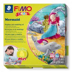 Gyurmakészlet, STA, Fimo Kids, 4x42g, hableány