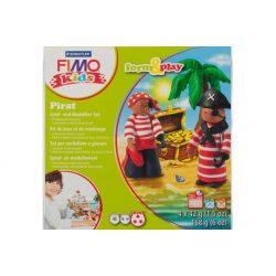Gyurmakészlet, STA, Fimo Kids, 4x42g, kalózok