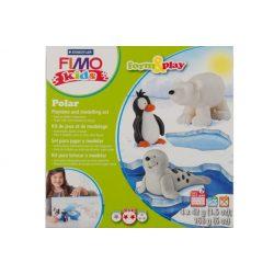 Gyurmakészlet, STA, Fimo Kids, 4x42g, sarkvidék