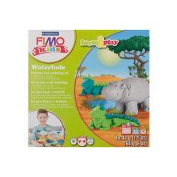Gyurmakészlet, STA, Fimo Kids, 4x42g, víziállatok