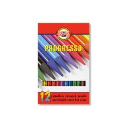 Progresso készlet színes 12db, Koh-I-Noor