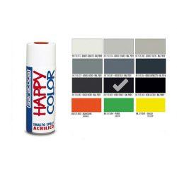 Happy Color Akril spray RAL9005 Matt Fekete, 400ml