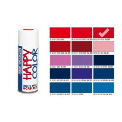 Happy Color Akril spray RAL3000 Piros, 400ml