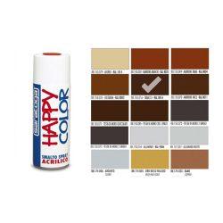 Happy Color Akril spray RAL8016 Dohány Barna, 400ml