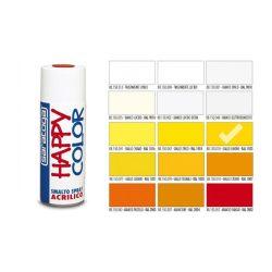 Happy Color Akril spray RAL1023 Citromsárga, 400ml