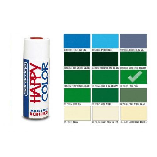 Happy Color Akril spray Fű Zöld, 400ml
