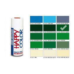 Happy Color Akril spray RAL6002 Erdei Zöld, 400ml