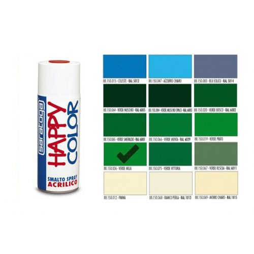 Happy Color Akril spray Alma Zöld, 400ml