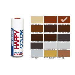 Happy Color Akril spray RAL8004 Réz Barna, 400ml