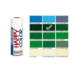 Happy Color Akril spray Moha Zöld, 400ml