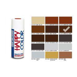 Happy Color Akril spray RAL8011 Mogyoró Barna, 400ml