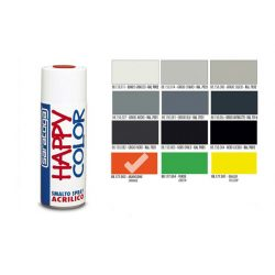 Happy Color Akril spray Fluor Narancs, 400ml
