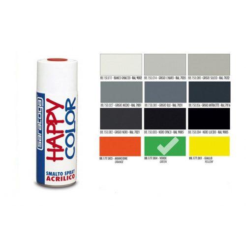 Happy Color Akril spray Fluor Zöld, 400ml