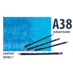 Derwent akvarell ceruza KINGFISH BLUE