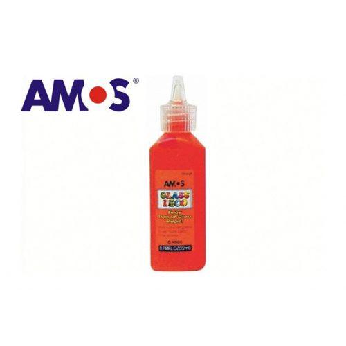AMOS üvegmatrica festék 22ml, narancs