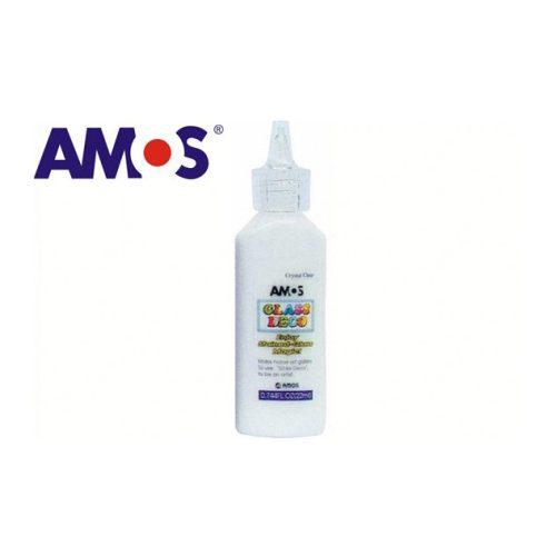 AMOS üvegmatrica festék 22ml, átlátszó