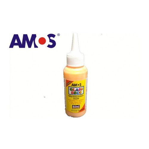 AMOS üvegmatrica festék 60ml, koral narnacs