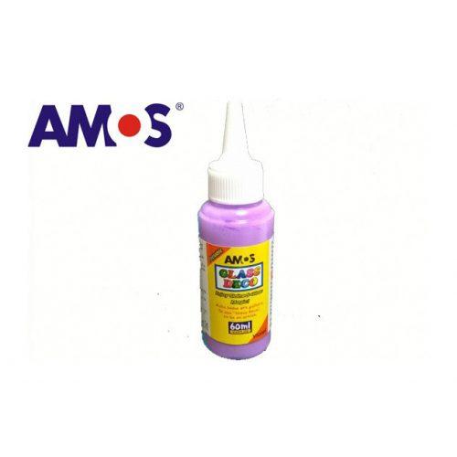 AMOS üvegmatrica festék 60ml, lila