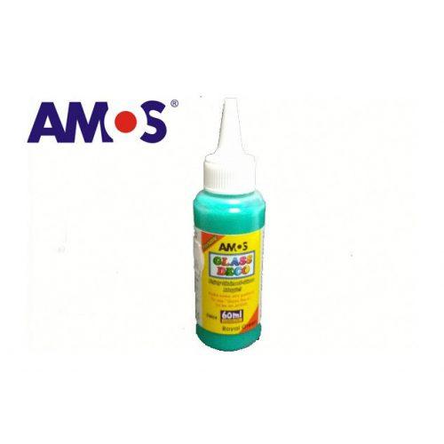 AMOS üvegmatrica festék 60ml, sötétzöld
