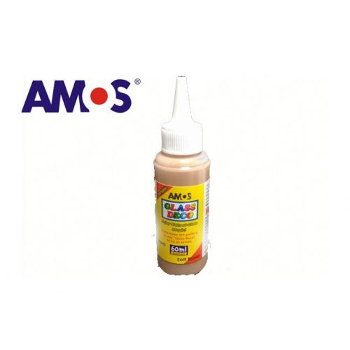 AMOS üvegmatrica festék 60ml, világosbarna