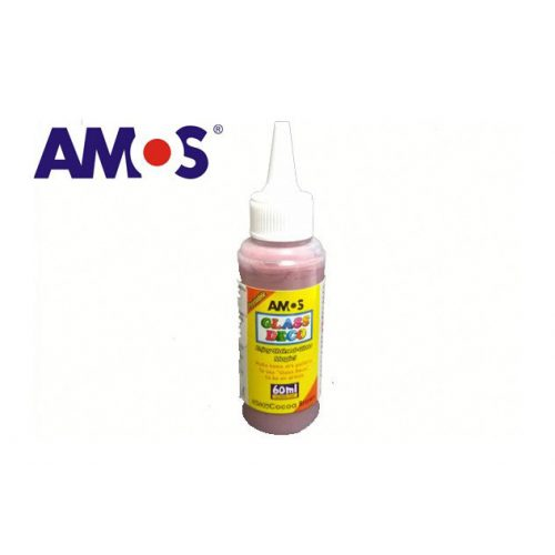 AMOS üvegmatrica festék 60ml, kakaó barna