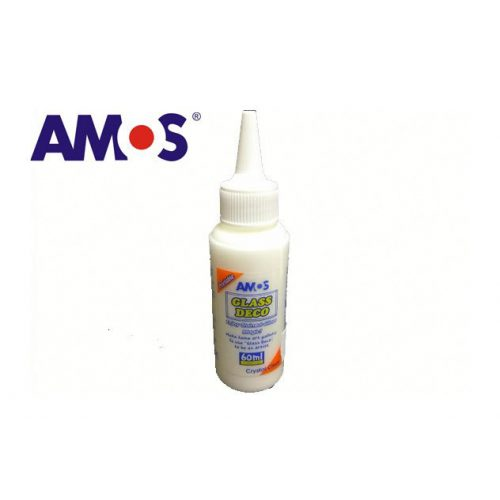 AMOS üvegmatrica festék 60ml, átlátszó