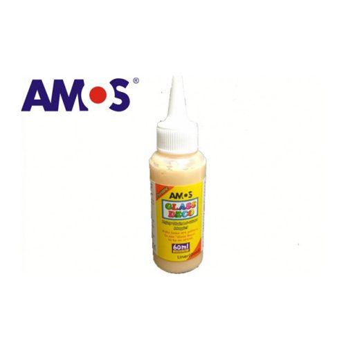 AMOS üvegmatrica festék 60ml, arany kontúr