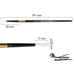 Munkácsy ecset, kerek, szintetikus fehér M501R-6