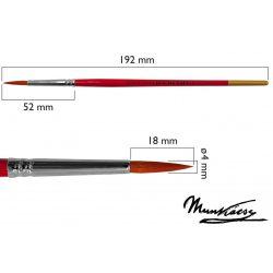 Munkácsy ecset, tű, gold szintetikus  M7500R-6