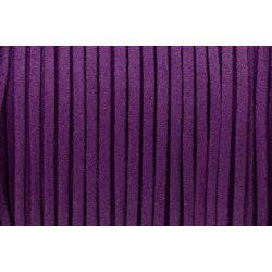 Hasított bőr (utánzat), 1,5 mm, lila