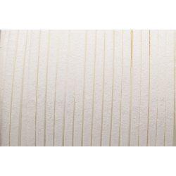 Hasított bőr (utánzat), 1,5 mm, fehér
