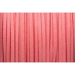 Hasított bőr (utánzat), 1,5 mm, rózsaszín