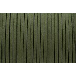 Hasított bőr (utánzat), 1,5 mm, oliva