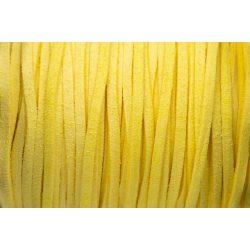 Hasított bőr (utánzat), 1,5 mm, citrom