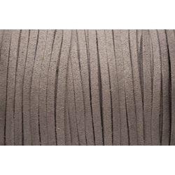 Hasított bőr (utánzat), 1,5 mm, szürke