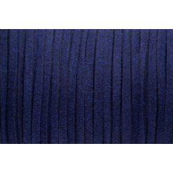 Hasított bőr (utánzat), 1,5 mm, sötét kék