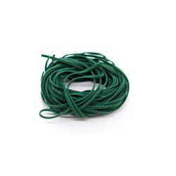 Gyapjú zsinór, 10x1m, sötétzöld