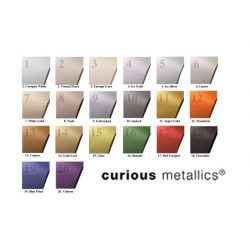 Curious Me. ezüst levélpapír  A4/120g, 5 ív (78231099)