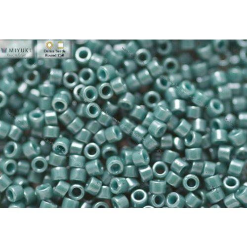Delica gyöngy 11/0, DB0264, telt lüszteres vadkacsa zöld, 4g