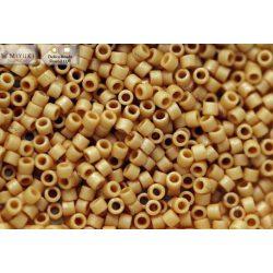 Delica gyöngy 11/0, DB0389, matt telt világos terrakotta, 4g